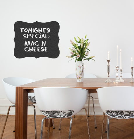 Chalkboard Wall Decal Collection Schtickers Chalkboard Wall