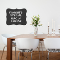 Schtickers Chalkboard Wall Decal