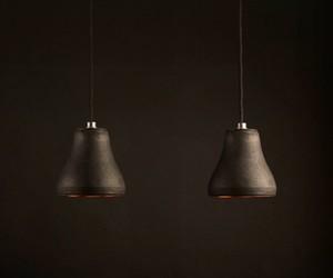 Schwarzes Gold Lamp