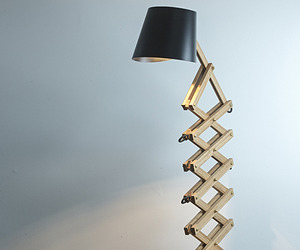 Scissor Lamp by Joska & Sons