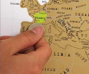 Scratch-Off World Maps
