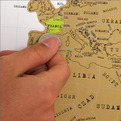 Scratch-Off World Maps