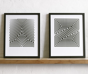 Screen Printed Alphabet Posters