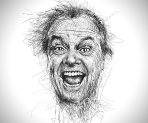 Scribble Portraits | Vince Low
