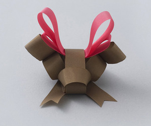 Sculpted Bows in The Shapes of Animals