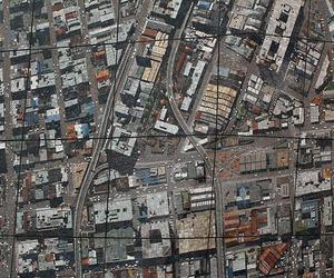 Sculptural Aerial Mosaic of Johannesburg