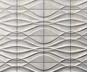 Sculptural Stone Wall Panels