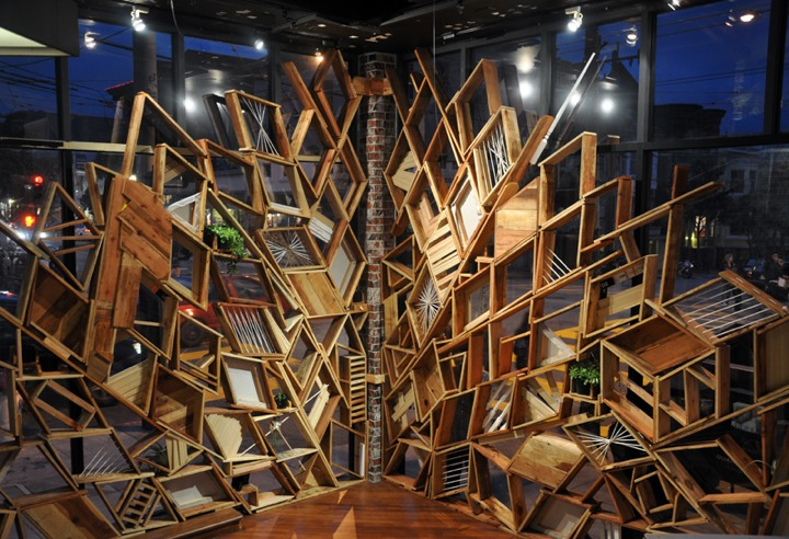 Sculpture for RVCA Store by Christopher Bettig