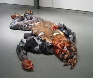 Sculptures Made Out Of Photographs