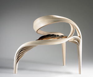 Sculputural Wooden Furniture by Joseph Walsh