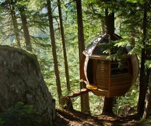 Secret HemLoft Treehouse in Canadian Woods