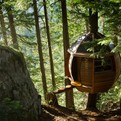 Secret HemLoft Treehouse in Canadian Woods