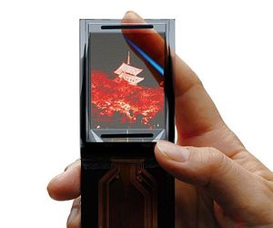 See Through Screen for Mobile Phones