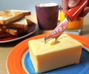 Self Heating Butter Knife For Cold Climates