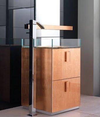 free standing sink by qin. Black Bedroom Furniture Sets. Home Design Ideas
