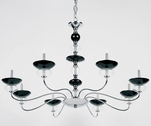 Senika - Contemporary five arm chandelier