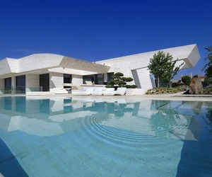 Sensational Sculptural Residence in La Finca by A-cero