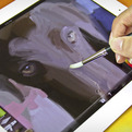 Sensu Painting Brush for iPad