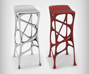 Serous Bar Stool by Michael Stolworthy