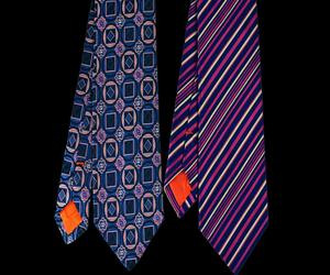 Set of Two Ties - Medallion & Stripe