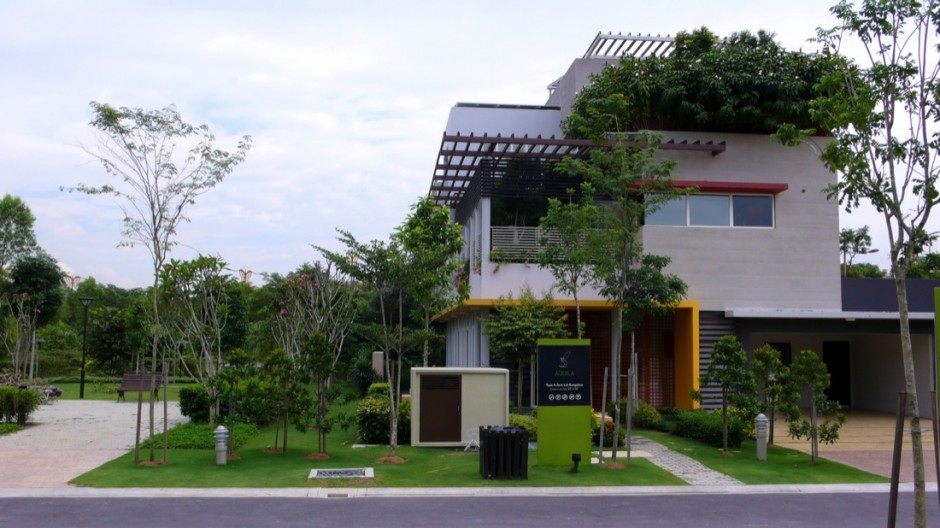 Setia Eco Villa with Top Roof Garden