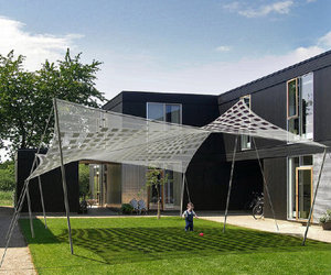 Sexy Solar Shade from Tensile Solar