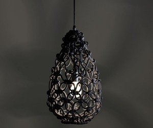 Shade Pendant Lighting 'Knotted Egg Light' By Sarah Parkes