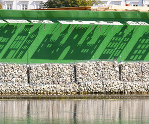 Shadow City installation in Copenhagen by Izabela Boloz
