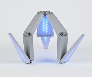 Shape-shifting Concept Solar Lamp | Lenka Czereova