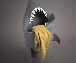 Shark Laundry Hamper