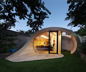 Shell-inspired Design of Shoffice (Shed + Office)