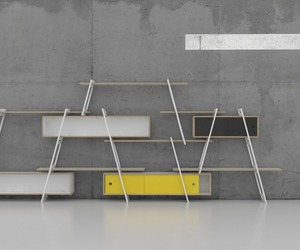Shelving System by DLF Production Design