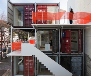 Shipping Container Office by Daiken Met