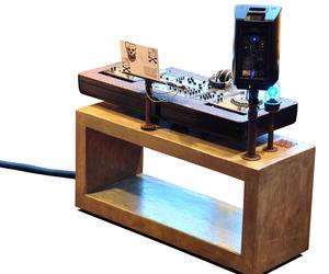Shoddy Lynn Custom DJ Console by Trevor O'Neil
