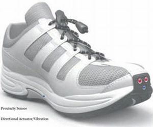 Shoe For The Visually Impaired