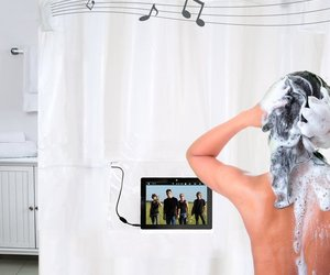 Shower Tunes Shower Curtain Speakers