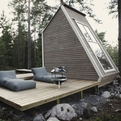 Shushing the world in this cabin design