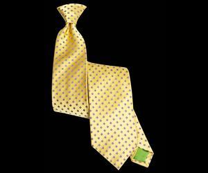Signature Rhombus Gold Tie