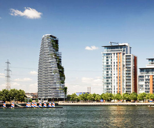 Silvertree Eco-tower by Studio RHE