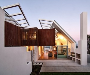 Simple Geometric Forms in New Zealand Home