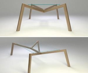 Simple Table With a Form Resembling a Spider