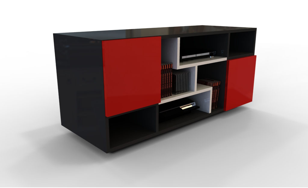 Tv Stand Simple Designs : Simple tv stand