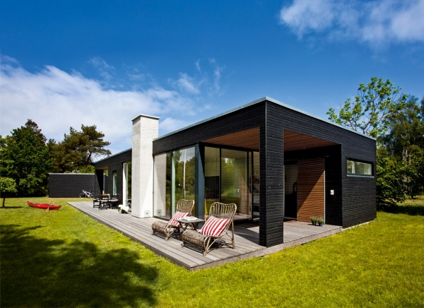 Single Story House In Denmark