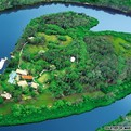 Sir Richard Branson's Heart Shaped Island for Rent