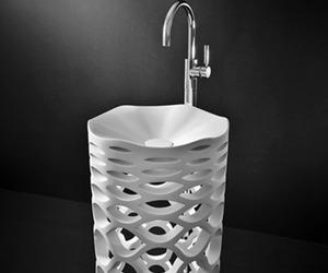Sirona-freestanding washbasin by Marmorin