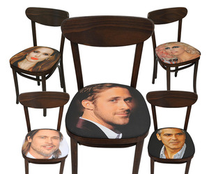 Sit On A Sexy Celebrity's Face with Face Chairs