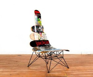 Skateboard Decks Seat by Janie Belcourt