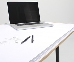 My Desk, Sketch Pad Desk by Miguel Mestre