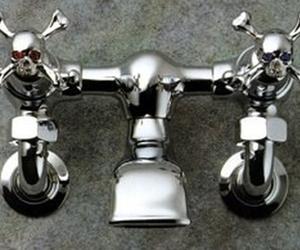 Skull & Crossbones Faucet