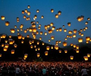 Sky Lantern Festival , Taiwan